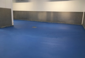 9mm Polyurethane Floor Screed Installation
