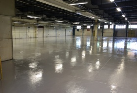 High Build Resin Flooring Project